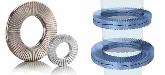 Wedge locking washer cool tools - Rondelle nord lock ...