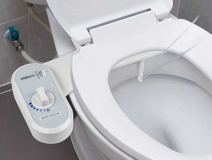 Non electric bidet toilet seat attachment cool tools - What is a bidet used for ...