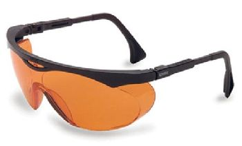 Orange Uvex Skyper Safety Glasses