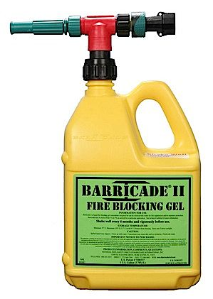 Barricade Fire Blocking Gel