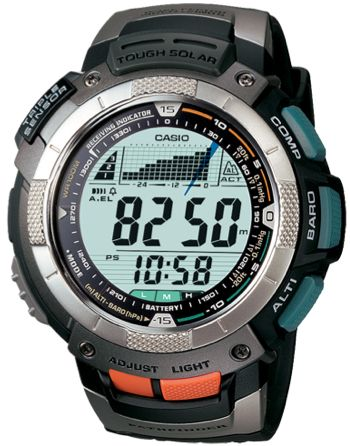 Casio Pathfinder Solar Atomic Watch