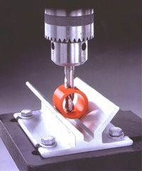 V-Block Drill Press Centering Fixture