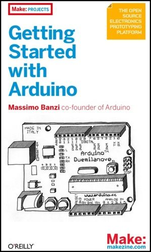 Giveaway copy of getting started with arduino cool tools