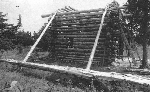 How to build this log cabin for 3 000 cool tools Tools to build a house