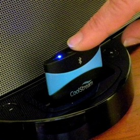 CoolStream Bluetooth Receiver for iPhone Dock