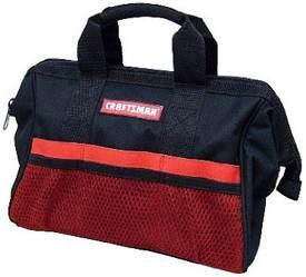Craftsman 13-Inch Reinforced Tool Bag
