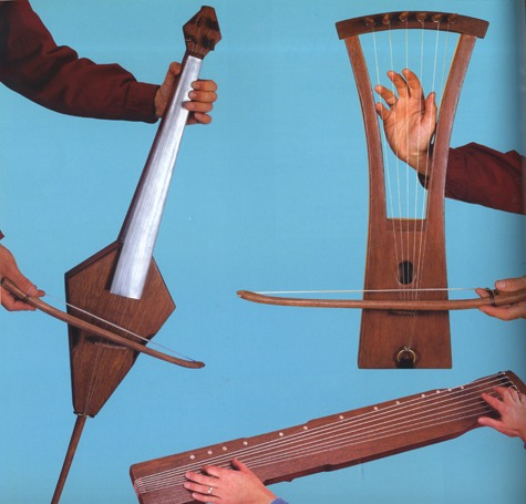 Homemade Musical Instrument Guides Cool Tools