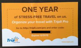 Giveaway! One-Year Membership to TripIt Pro | Cool Tools