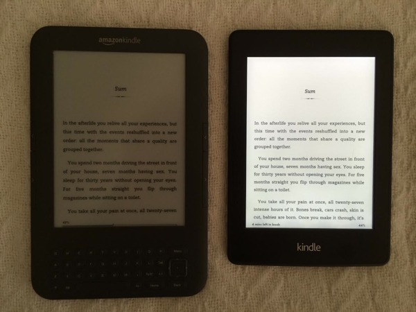Kindle Paperwhite - best e-book reader