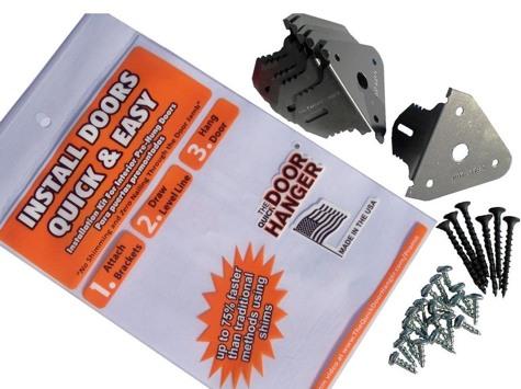 Quick Door Hanger Brackets