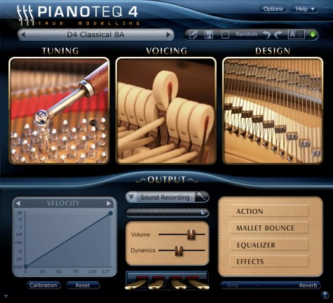 Pianoteq Software Piano