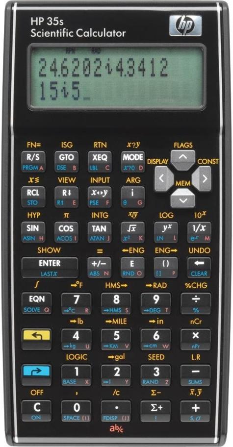 Hp 35s Scientific Calculator Cool Tools