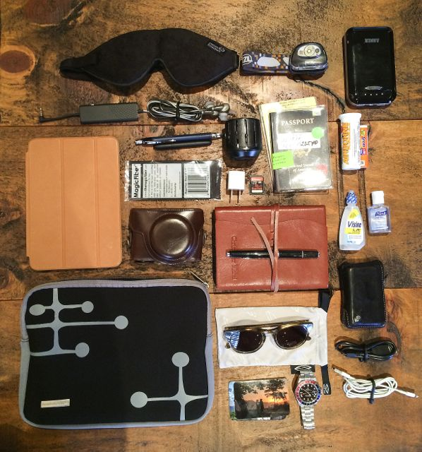 What's in My Bag? – Christopher Michel