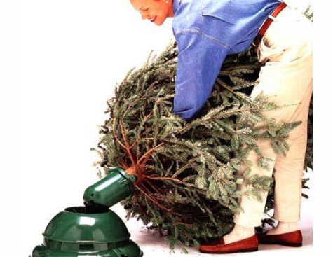 Swival Christmas Tree Stand.Swivel Straight Christmas Tree Stand Cool Tools