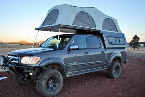 Flip-Pac Camper Shell | Cool Tools