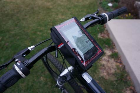 Bike Bag on Mini Pocket Bikes